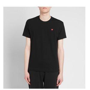 Comme Des Garçons Play Red heart T-shirt Boys (XS)